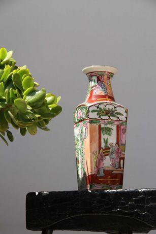 Jarra Oriental de Porcelana, objecto de coleccionador, anos 60