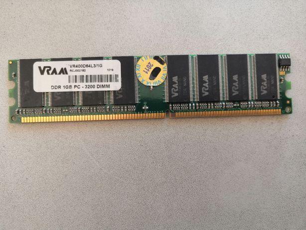 RAM DDR1 256,512,1GB pc3200 pamięć