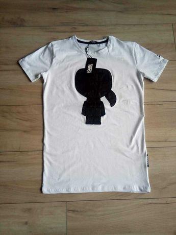 Koszulka bawełniana Karl Lagerfeld SM XL 2XL
