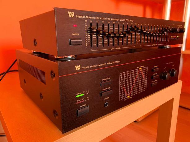 Оконечный усилитель Wangine WPA-600 PRO/эквалайзер Wangine WVQ-600 Pro