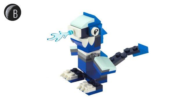 Лего іграшка льодяний дракон