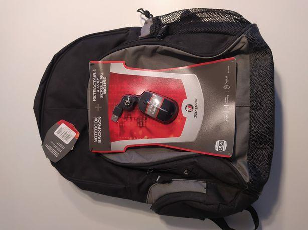 "Nowy plecak Targus na laptopa 15, 4""+mysz"