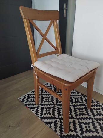 KRZESŁO INGOLF IKEA W bardzo dobrym stanie + dwie poduszki