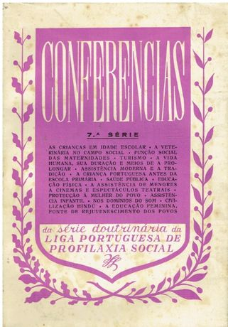 2039 Conferências (7ª Série) da Série Doutrinária da Liga Portuguesa