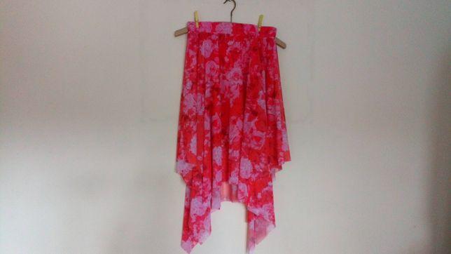 Nowa spódnica 2 warstwowa z asymetrycznym dołem Reserved