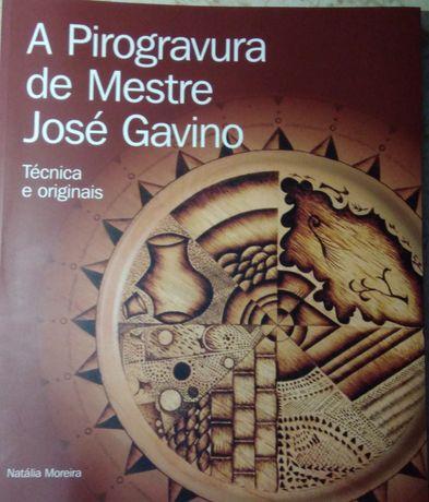 Livro de pirogravura de Mestre José Gavino