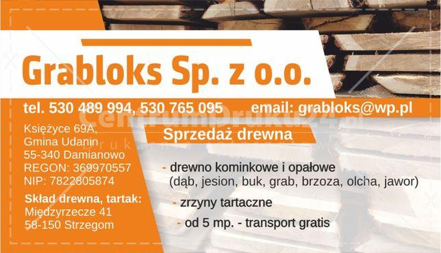 drewno kominowe i opałowe, kłody - sprzedaż