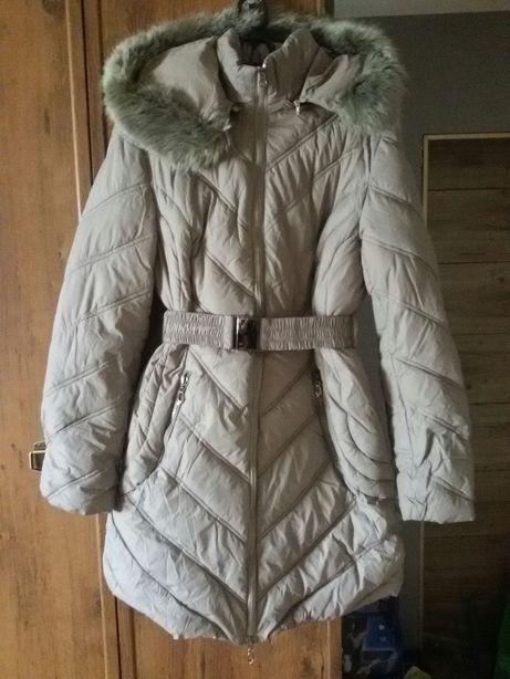 Ciepła zimowa dłuższa kurtka