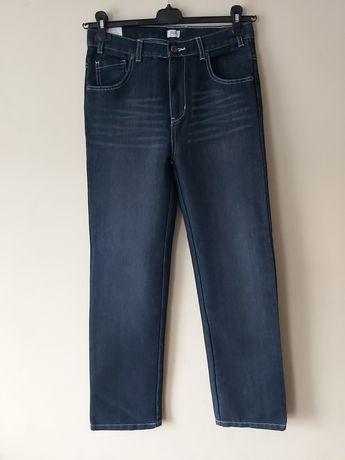 Nowe chłopięce spodnie jeansy  F&F 158