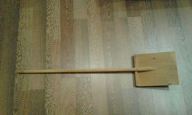 Лопата деревянная 1м для уборки снега