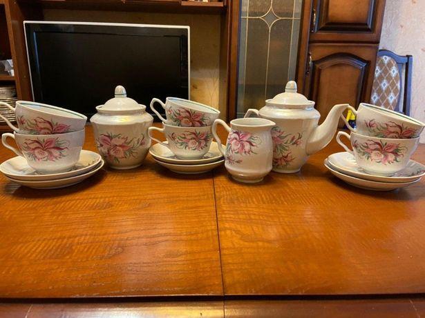 Чайний сервіз на 6 персон СРСР