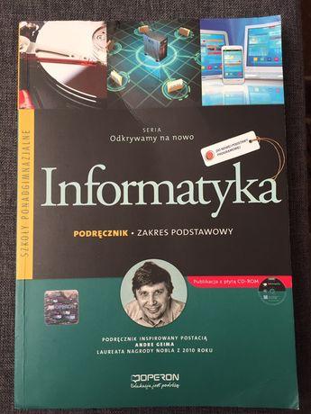 Książka podręcznik Informatyka operon