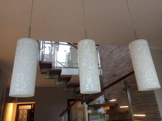 Lampa sufitowa 3 klosze