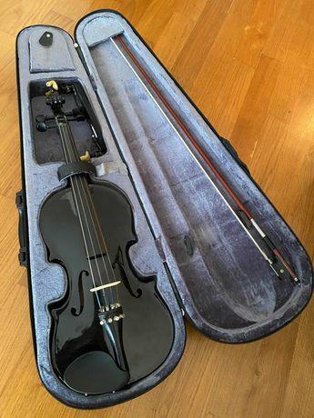 Violino Stagg Preto 4/4