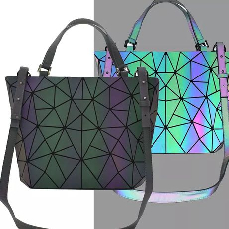 Torebka Bao holograficzna na prezent