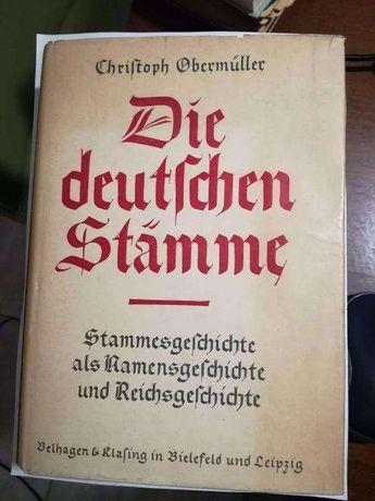 Die Deutschen Stämme - Niemieckie plemiona z 1941r.