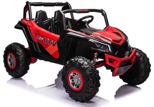 Auto na Akumulator Buggy UTV-MX czerwony 4x60W 24V7Ah koła EVA