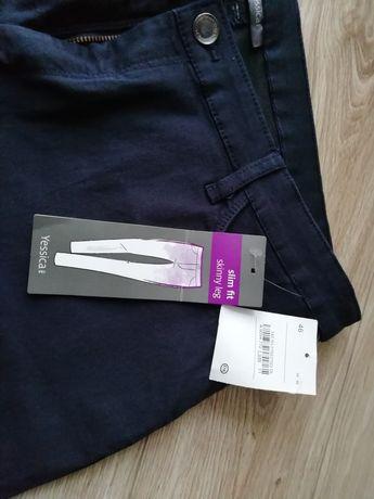 Nowe spodnie damskie slim fit rozmiar 46 c and a