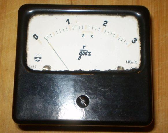 Wskaźnik ETA MEA-3 do wojskowego wykrywacza promieniowan