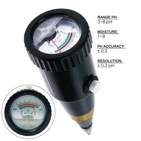 pH метр, анализатор почвы, аналізатор грунту, кислотомер ZD 05