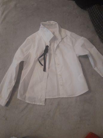 Biała koszula 98/ 104