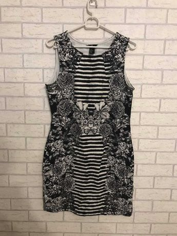 Letnia sukienka we wzorki H&M