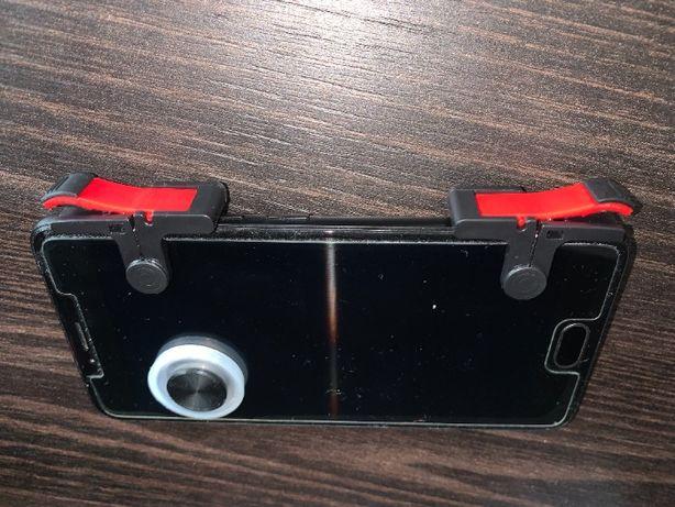 Комплект триггеры и круглый игровой джойстик для телефона