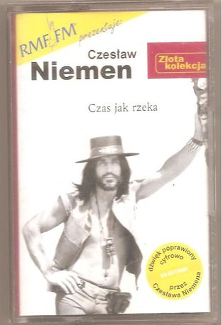 Czesław Niemen - Czas jak Rzeka - Złota Kolekcja - MC 2000 EMI Stan NM