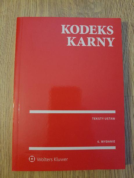 Wolters Kluwer Kodeks Karny wydanie 6