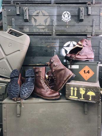 Buty opinacze LWP/opinacze oryginalne/opinacze wojskowe brązowe