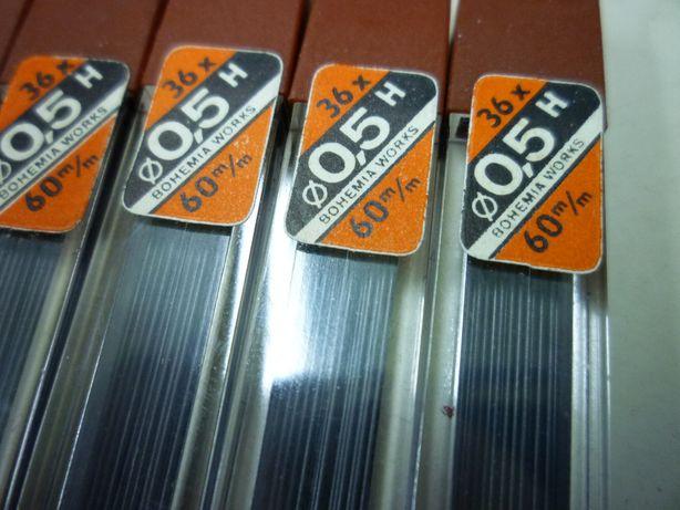 Wkłady do ołówka automatycznego Toison Dor 0,5 H 36 szt. nowe