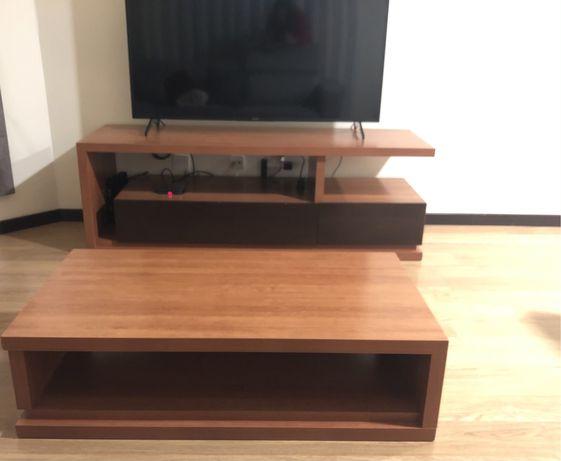 Móvel TV e mesa centro