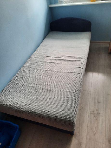 Łóżko tapczan jednoosobowy 90 x 190 cm