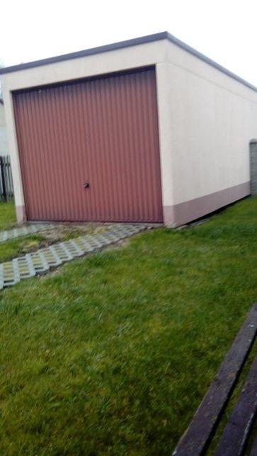 Garaż żelbetonowy