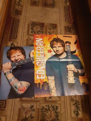 Plakaty z ed-sherranem