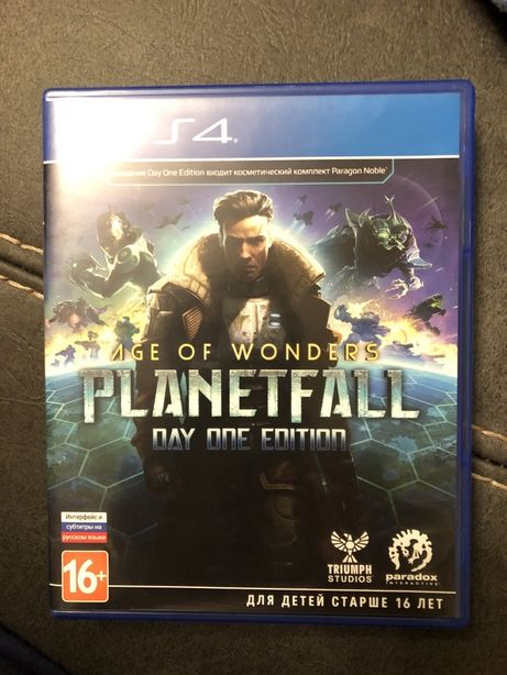 Planetfall age of wonders PS4