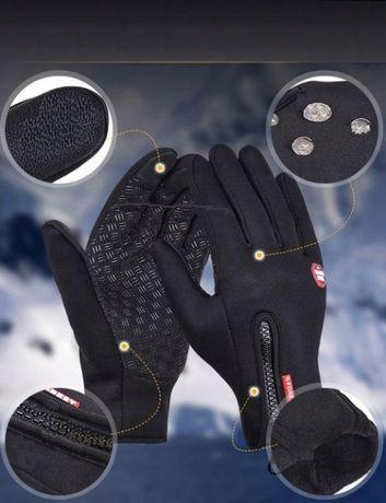 Rękawiczki trekkingowe M nieprzemakalne ocieplane