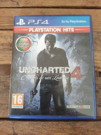 Uncharted 4 PS4 Portes Grátis