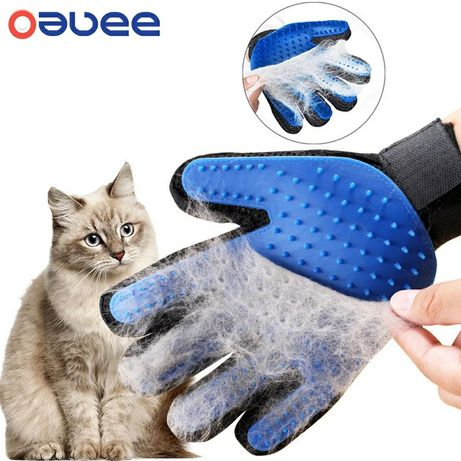 Перчатка для вычесывания кота/собаки