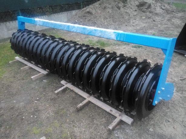 Części nowy wał Dyskowy Kraker 600 mm czyściki skrobaki