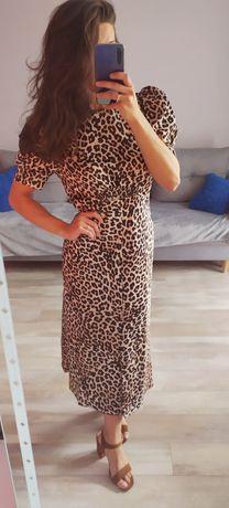 Sukienka w panterkę L