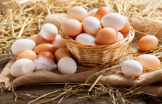Jajka z własnego gospodarstwa