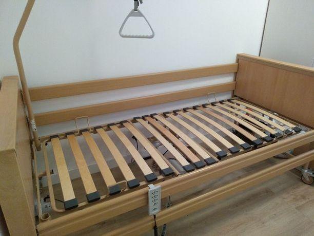 Łóżko rehabilitacyjne elektryczne na pilota Burmeier Dali II