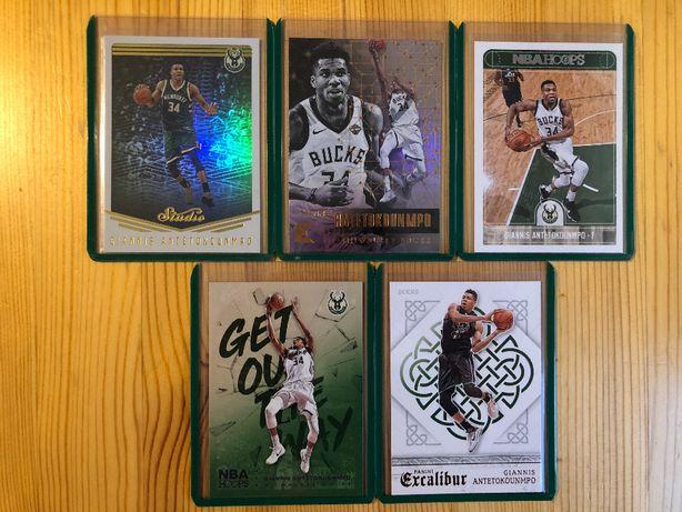 Karty NBA Giannis Antetokounmpo