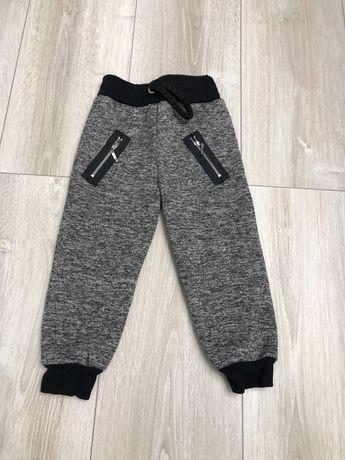 Ocieplane spodnie dziecięce