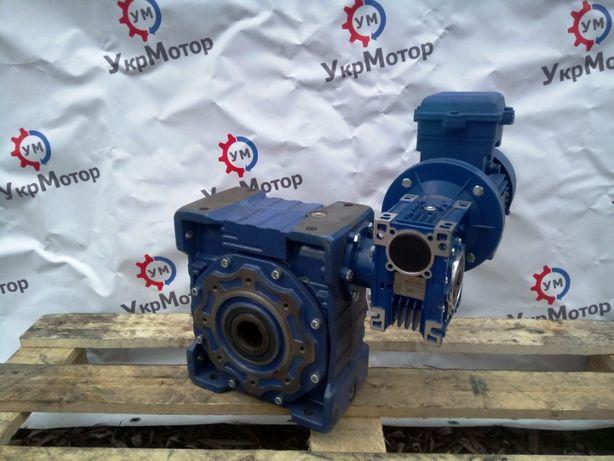 Мотор редуктор Motovario NMRV 050 / CMRV 110 электродвигатель 0,25 кВт
