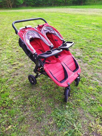Wózek spacerowy podwójny Baby Jogger City Mini GT double