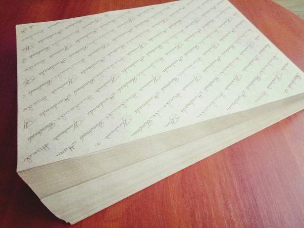 Обгортковий папір Handmade, Ручная работа.