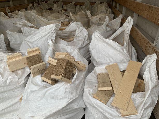 Drewno z palet sezonowane