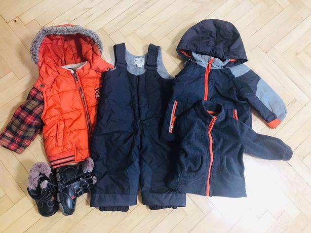 Фірмовий Зимовий одяг для хлопчика 1 рочок